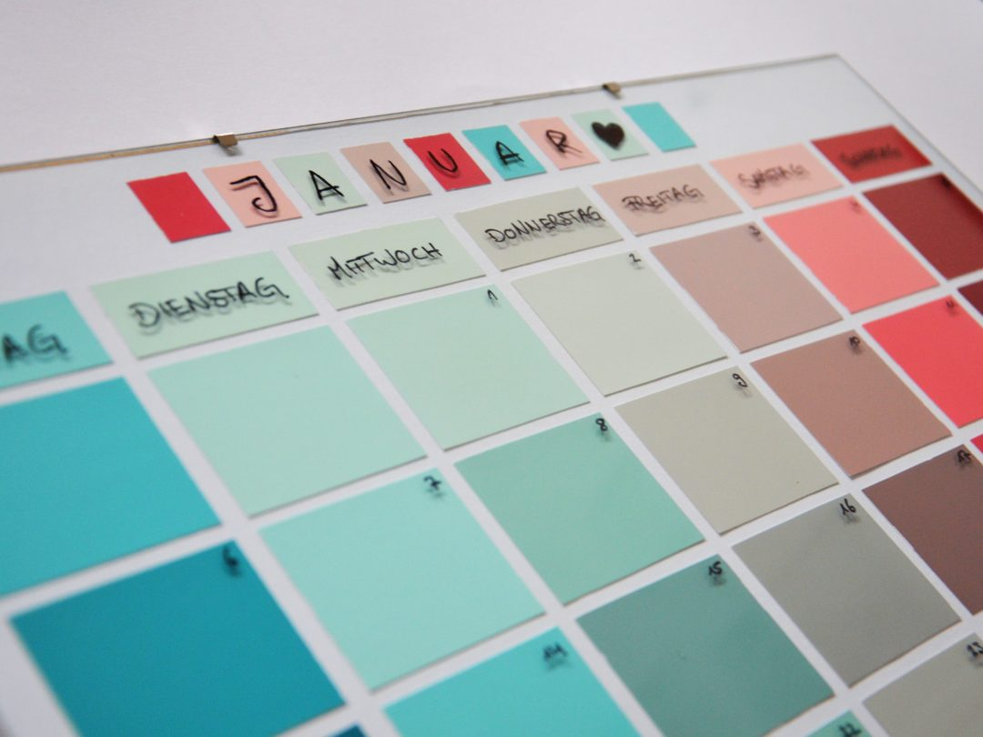 Farbkartenkalender